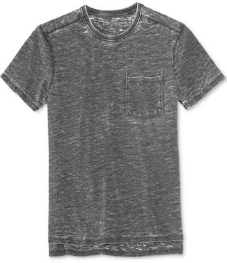 GUESS Men's Myer Slub Burnout Cotton T-Shirt