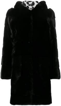 Philipp Plein fur hooded coat