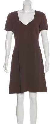 Giorgio Armani Knee-Length Short Sleeve Dress