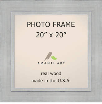 "Amanti Art Romano Silver 20"" X 20"" Opening Wall Picture Photo Frame"