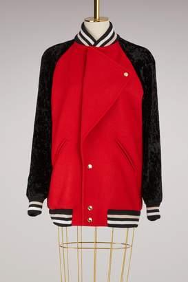 Lanvin Oversized Teddy Jacket