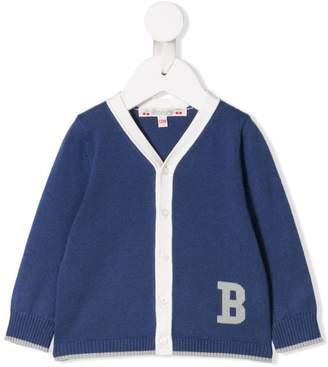 Bonpoint 'B' logo cardigan