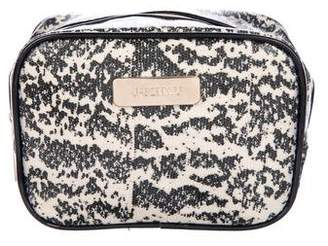 Jason Wu Printed Coated Canvas Zip Cosmetic Bag
