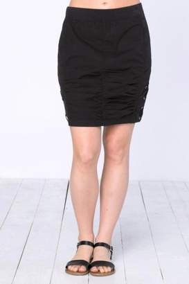 2b0b849ed06 at Shoptiques · XCVI Rouched Criss-Cross Skirt