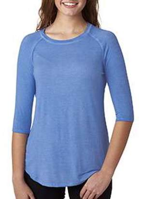 Oasis J. America J America Ladies' Wash 3/4-Sleeve T-Shirt