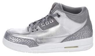 Nike Jordan 3 Retro Chrome Sneakers w/ Tags