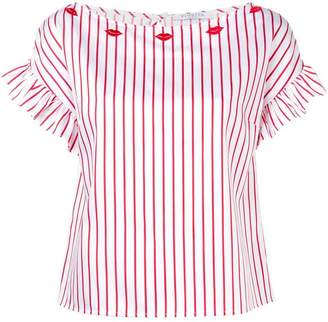 Vivetta short-sleeve striped blouse