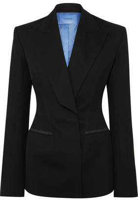Thierry Mugler Wool-twill Blazer - Black