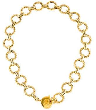 Sonia Rykiel Circle Link Necklace