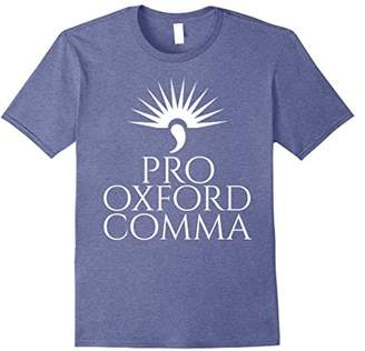 Pro Oxford Comma Shirt | Funny Grammar Police Tee Shirt