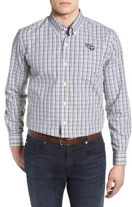 Cutter & Buck Tennessee Titans - Gilman Regular Fit Plaid Sport Shirt