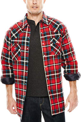 Ely Cattleman Flannel Shirt Jacket - Tall