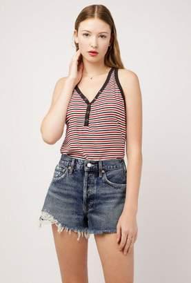 Azalea Stripe Knit Tank Top