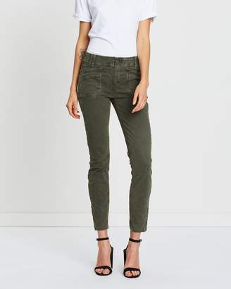 Paige Utilitarian Hoxton Ankle Jeans