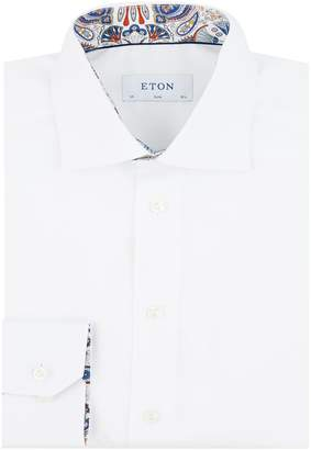 Eton Cotton Paisley Formal Shirt