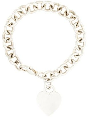 Tiffany & Co. Heart Tag Bracelet $145 thestylecure.com