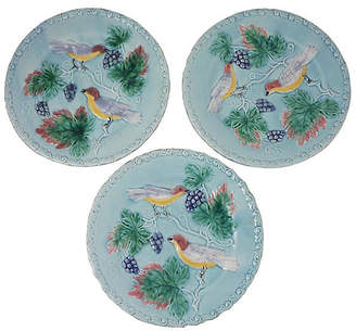 ... One Kings Lane Vintage Majolica Bird u0026 Grapes Plates - Set ...  sc 1 st  ShopStyle & Grape Dinnerware Set - ShopStyle