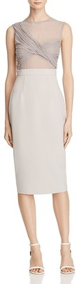 AQ/AQ Hallie Sheer-Bodice Dress $215 thestylecure.com