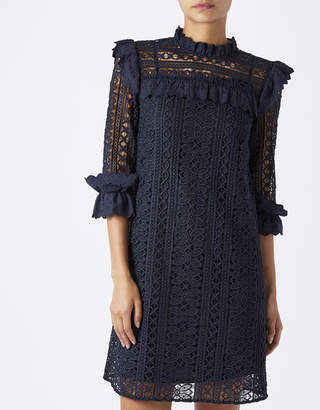 Monsoon Lacey Frill Dress