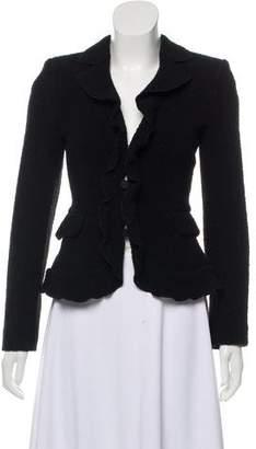Armani Collezioni Wool Bouclé Blazer w/ Tags