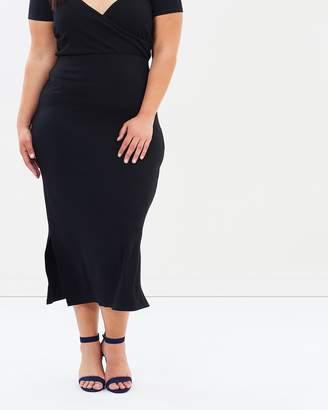 Evans Side Split Maxi Skirt