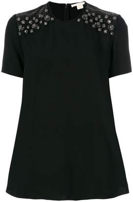 Antonio Berardi embellished detail top
