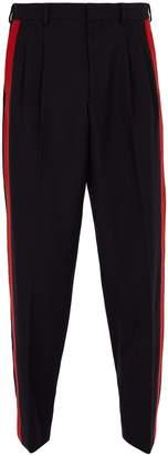 Stella McCartney Side-stripe wool trousers