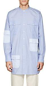 J.W.Anderson Men's Cotton Military Tunic - Blue