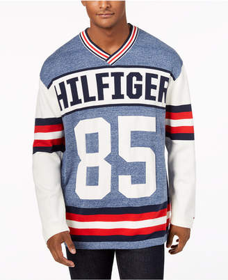 Tommy Hilfiger Men's Puck Logo V-Neck Sweater, Created for Macy's