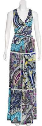 Etro Abstract Print Maxi Dress