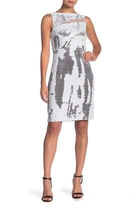 Julia Jordan Sleeveless Sequin Dress