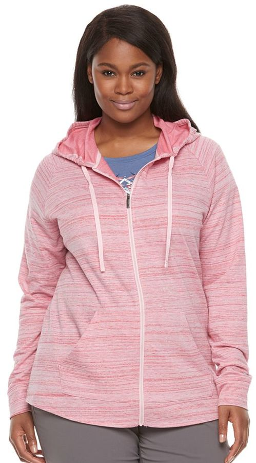 Columbia Plus Size Columbia Lemon Valley Space-Dye Hoodie