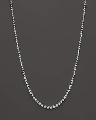 Bloomingdale's Diamond Graduated Tennis Necklace in 14K White Gold, 4.0 ct. t.w. - 100% Exclusive