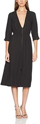 Won Hundred Women's Ester_1 Party Dress, (Ray Black), 4 (Size:32)