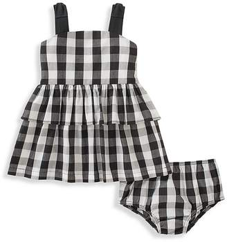 Kate Spade Girls' Gingham Sundress & Bloomers Set - Baby