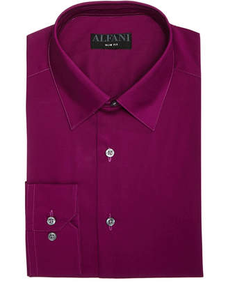 Alfani AlfaTech by Slim-Fit Stretch Performance Dress Shirt