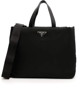Prada Medium Padded Tote Bag