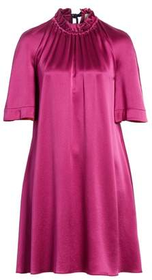Roksanda Daena Colorblock Cuff Silk Dress
