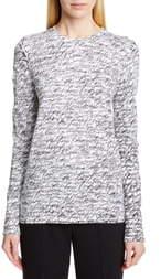 Michael Kors Collection Signature Print Long Sleeve Tee