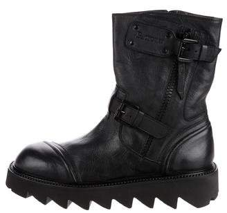 Cesare Paciotti Leather Ankle Boots w/ Tags
