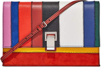 Proenza Schouler Small Colorful Patchwork Lunch Bag-with-a-Strap