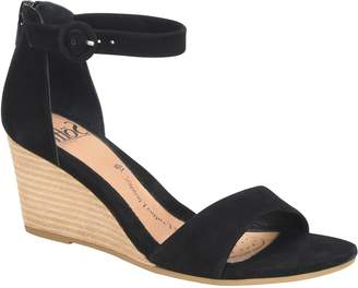 Sofft Suede Wedges - Marla