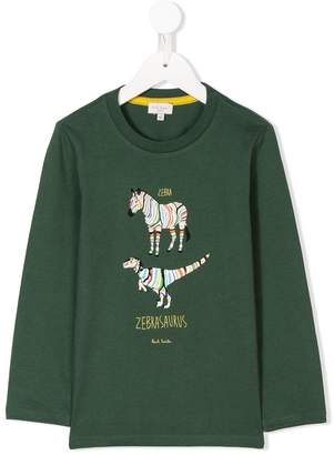 Paul Smith Zebrasaurus print sweatshirt