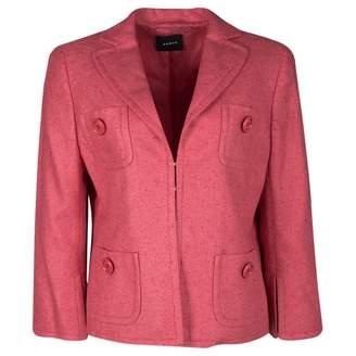 Akris Pink Silk Jackets