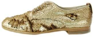 AGL Bronze Sequin Brogue
