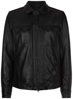 AllSaints Forum Leather Jacket