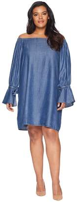 Bobeau B Collection by Plus Size Auden Off the Shoulder Dress Women's Dress
