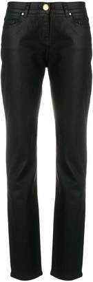 Class Roberto Cavalli high-waisted skinny trousers