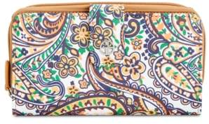 Giani Bernini Saffiano Paisley All In One Wallet, Created for Macy's