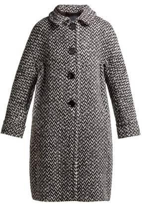 Max Mara S Mana Coat - Womens - Black White
